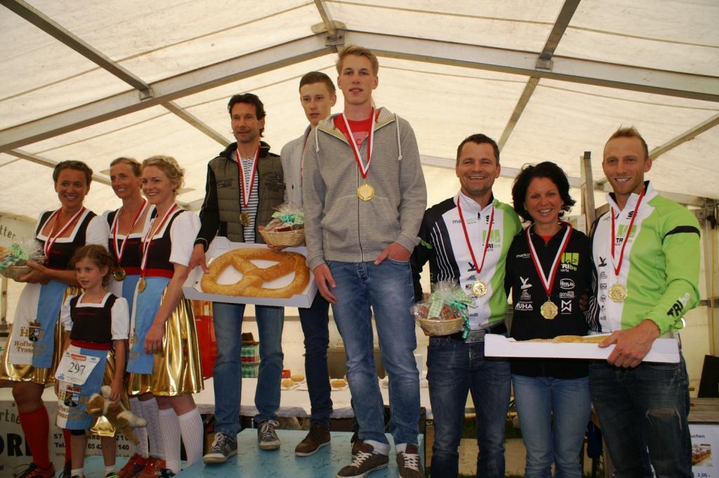 Staffelsieg für das Team Plussport Saalfelden beim 21. Ritzensee-Sonnwendlauf