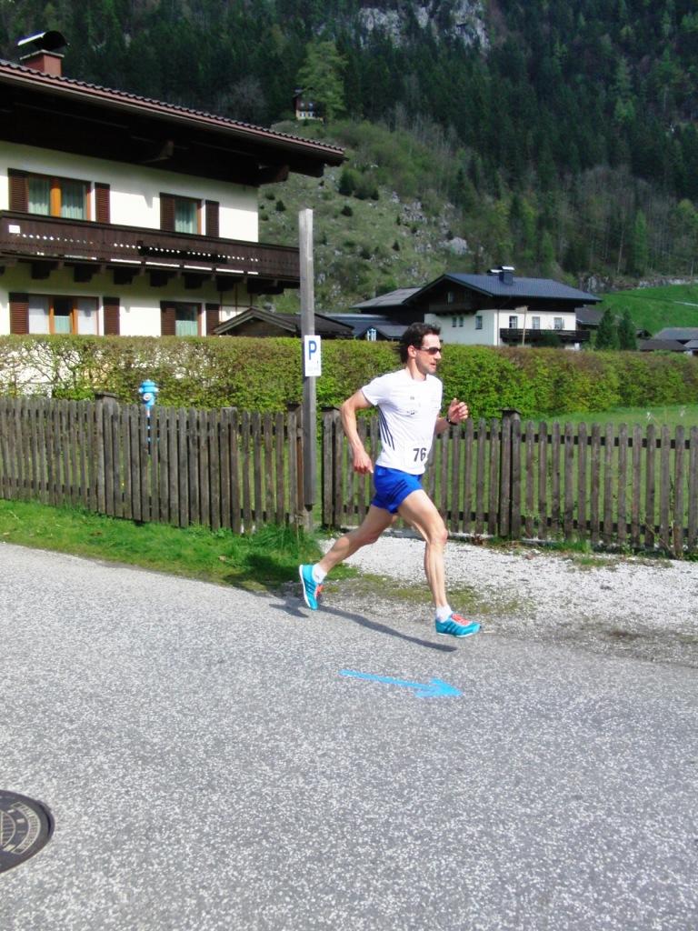 Günther Schernthaner beim 8. Georg-Hohenwarter-Gedächtnislauf (Weißbach) 2017